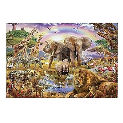 Black Temptation Puzzle 1000 Pezzi In Legno Per Bambini Giocattoli Paesaggio Puzzle Animale