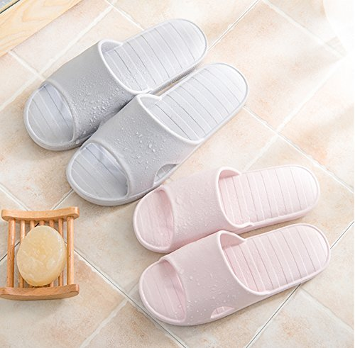Slippers Water pink Anti Lily Shoes slip Indoor Bath Slippers Foams Slip Soles Shower Pool Sandals Happy on Thick House 6SqPHpw