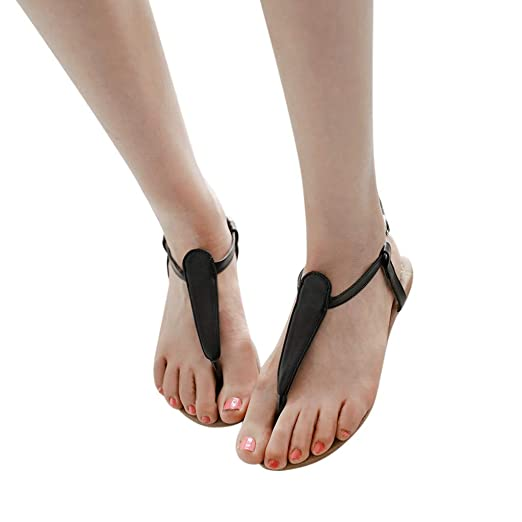 8f0bf8d414e Amazon.com  BSGSH Flat Thong Sandals Women