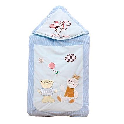 Saco de Dormir para bebés, Sujetar una Funda de algodón de Doble Uso para otoño e Invierno, Calor recién Nacido ...