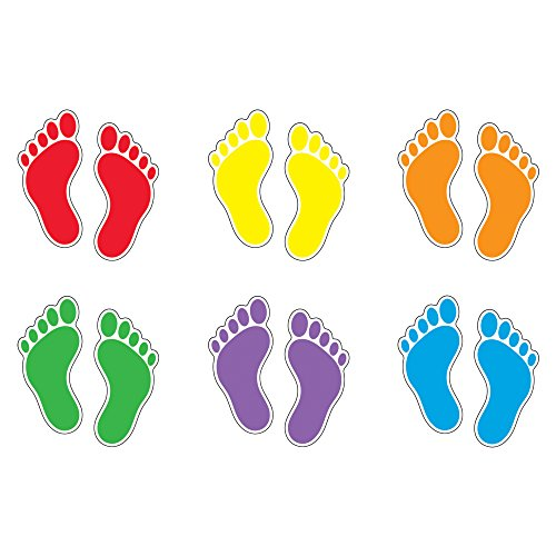 TREND enterprises, Inc. Footprints Classic Accents Variety Pack,72 pieces