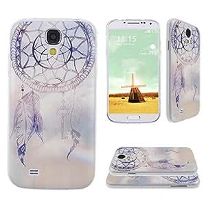 Asnlove para Samsung Galaxy S4 IV I9500 I9505 cover funda carcasas de Gel TPU silicona transparente suave ultra delgada goma cubierta de tapa trasera case-Atrapasueno
