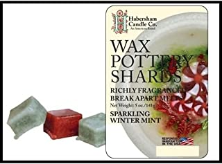 product image for Sparkling Winter Mint Wax Pottery Shards
