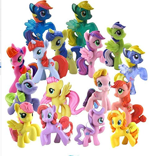 Stuffed Plush Animals | 100pcs|lot Wholesale Mixed Styles&Colors Kids Mini Animal Horse Dolls Pendant Doll Rainbow Little Horse Toy from Pencrys