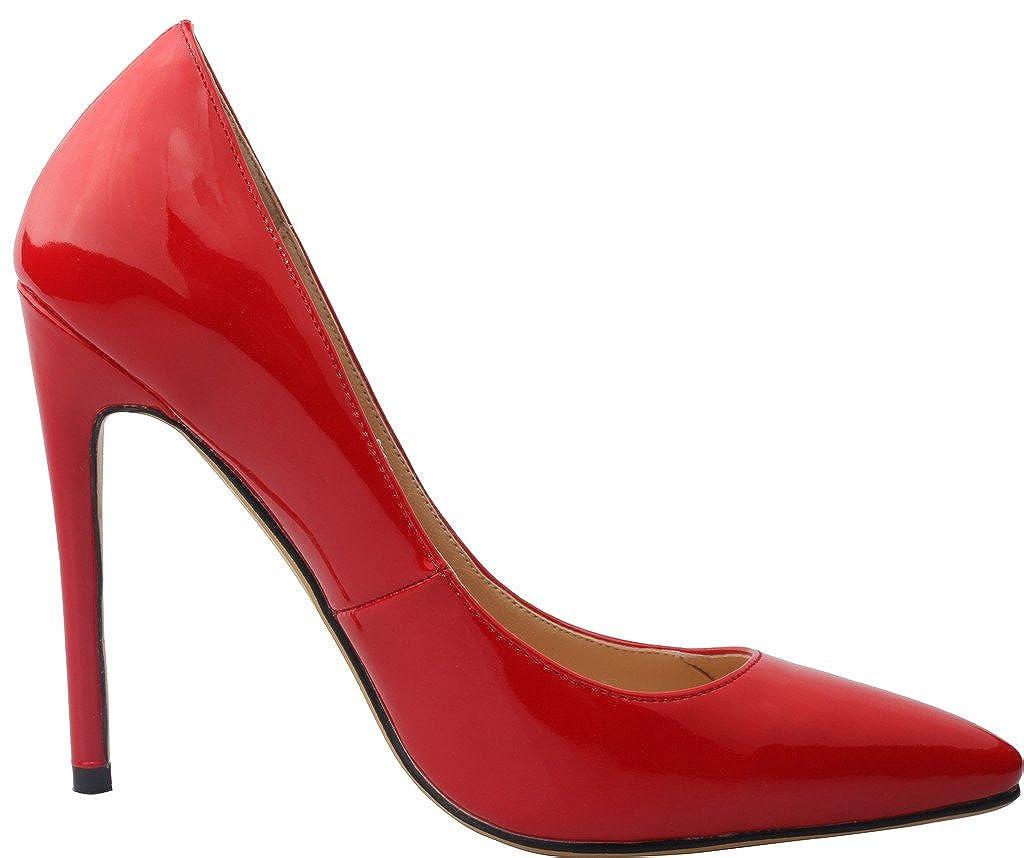 Vaneel Vaflash, Damen Pumps, rot - - Rotes Leder - Größe: 40 - - 3efc02