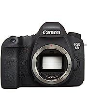 كاميرا كانون EOS 6D هيكل - 20.2 ميجابكسل، اس ال ار، اسود