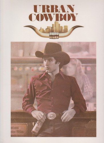 Urban Cowboy 1980 Original Movie Program - NOT A DVD