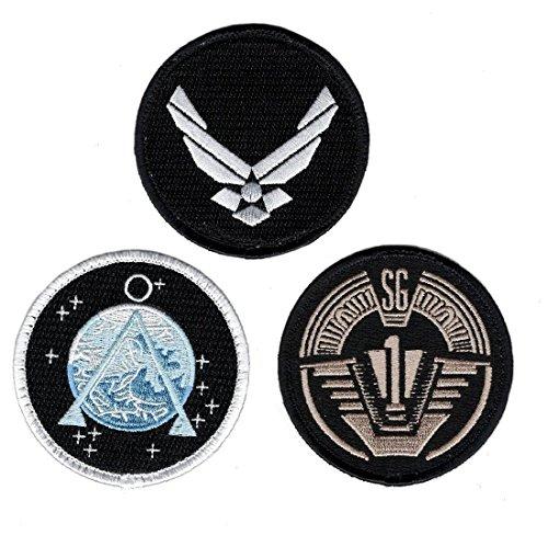 Stargate SG-1 Uniform/Costume 3.0 inch Morale Iron on Patch (Bundle (Custom Jedi Costume)