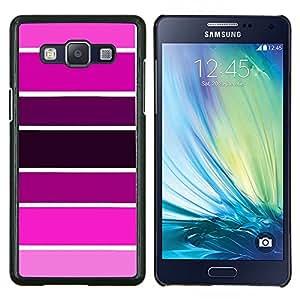 LECELL--Funda protectora / Cubierta / Piel For Samsung Galaxy A5 A5000 -- Muestra Rosa Púrpura tonos fucsia --