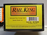 MTH RAIL KING MARBURGER DAIRY ORANGE JUICE REEFER