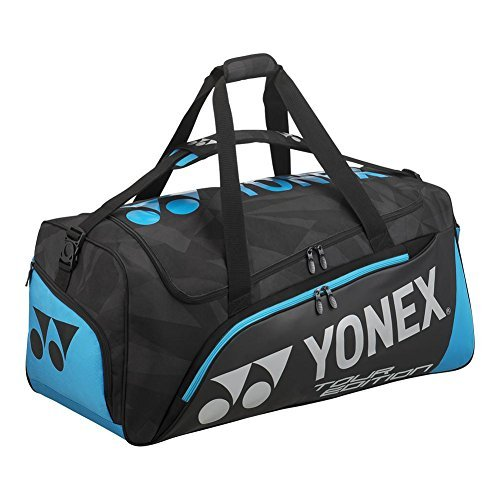 Yonex - Pro Tour Travel Tennis Bag Black and Blue - (BAG9830BL) by Yonex