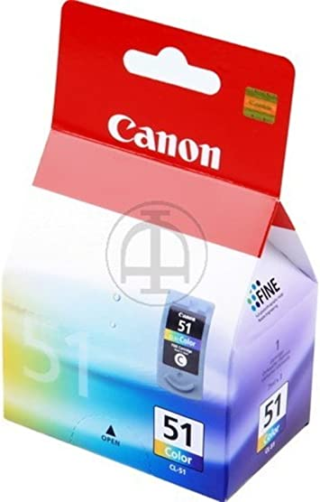 Canon Pixma Mp 170 Cl 51 0618 B 001 Original Druckkopf Cyan Magenta Gelb 545 Seiten 21ml Bürobedarf Schreibwaren