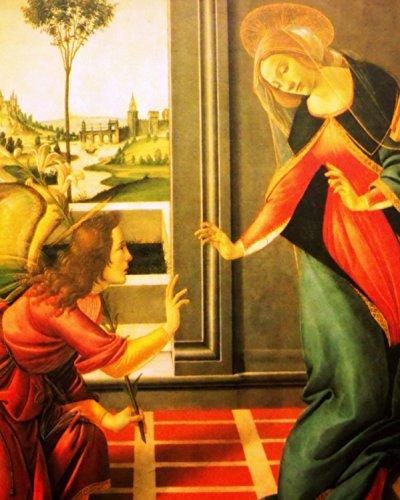 Amazon Com The Annunciation Virgin Mary Archangel Angel Gabriel