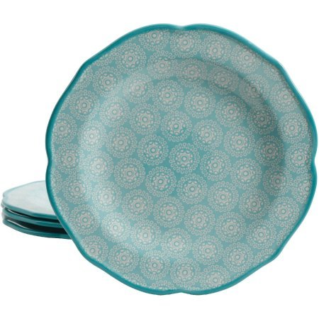 - The Pioneer Woman Hyacinth Blue Teal 10.5