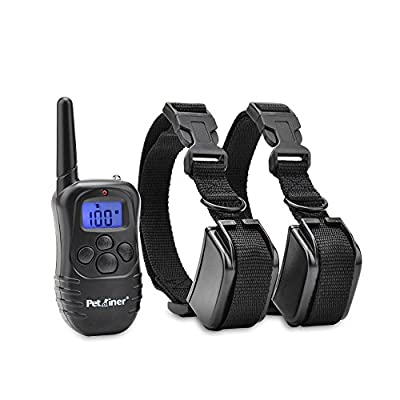 Petrainer Dog Training Collar 330yd Remote Dog Shock Collar with Beep, Vibration and Shock Electronic Collar from Juxin Industrial Co., Ltd.