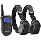 """Petrainer IS-PET998DR2 330 yd Remote Dog Training E-Collar, 7.67 by 1.88 by 5.9"""""""
