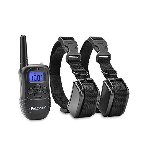 Petrainer-Dog-Training-Collar-330yd-Remote-Dog-Shock-Collar-with-Beep-Vibration-and-Shock-Electronic-Collar