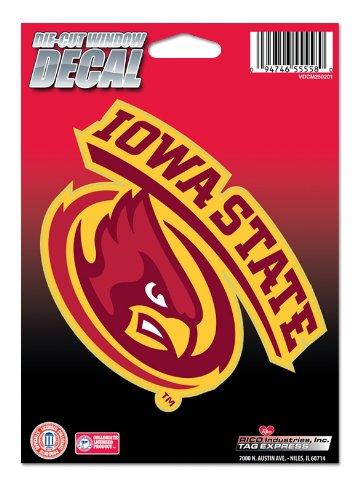 NCAA Iowa State Cyclones Die Cut Vinyl Decal ()