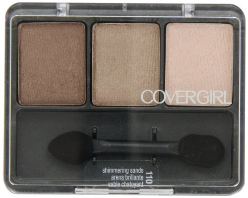 CoverGirl Eye Enhancers 3 Kit Shadow, Shimmering Sands 110, 0.14-Ounce Packages (Pack of 3) ()