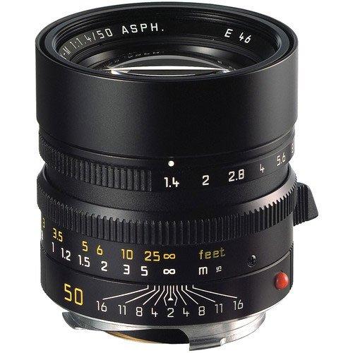 Leica 50 mm/F 1.4 SUMMILUX-M ASPH. Objektiv (Leica M-Anschluss)