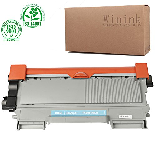 Winink TN450 Toner Cartridge High yield Compatible for brother intellifax 2840 toner cartridge HL 2270D HL 2240 MFC 7360 7360DW 7860D WHL 2220 DCP 7065DN DCP 7060D