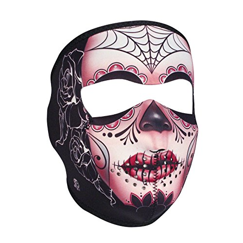 ZANheadgear Full Mask (Multi, One Size) (Neoprene, Sugar Skull)