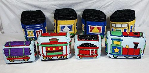 Kleine Spielzeug-Tasche, Eisenbahn, Lokomotive