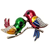 Szxc Jewelry Bird Collection Custom Accessories Wedding Brooches Pin Jewelry Gifts Women Teen Girls