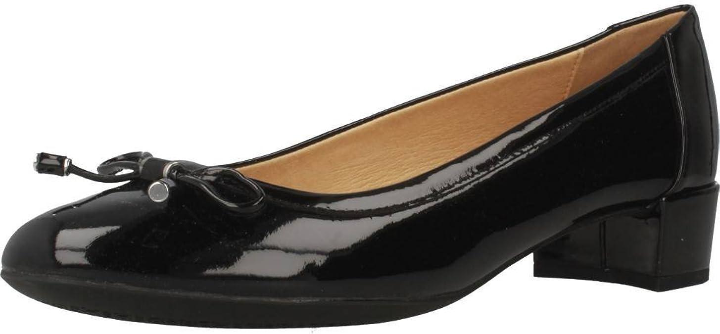 Geox D Carey D, Zapatos de Tacón Mujer