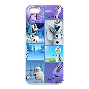 Frozen lovely happy snow man Cell Phone Case for iPhone 5S