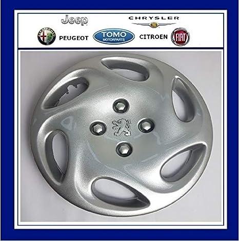 PSA 5416A1 - Tapacubos para Peugeot 206 (14 Pulgadas, 6 Agujeros): Amazon.es: Coche y moto