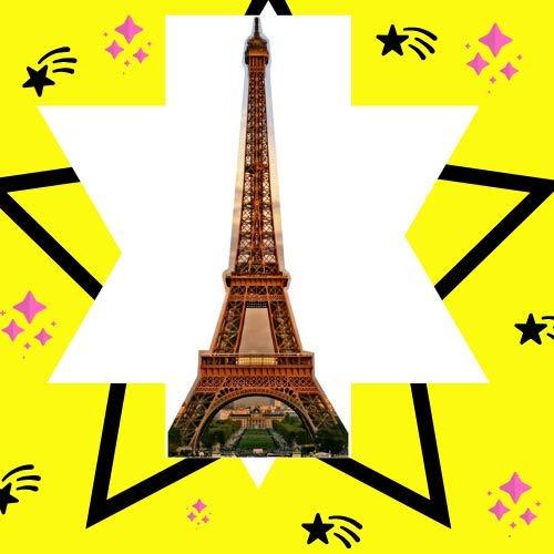 Star Cutouts SC143 tar Cutouts Cut Out of Paris Eiffel Tower