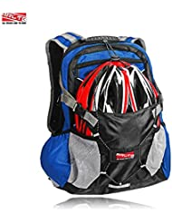 Arltb Bike Backpack with Helmet Storage Cycling Backpack Hiking Backpack Travel Backpack Waterproof Backpack Motorcycle...