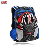 Cheap Arltb 20L Bike Backpack with Helmet Storage (2 Colors) Cycling Hiking Travel Daypack Waterproof Motorcycle Backpack Lightweight Motorcycle Helmet Bag for Cycling Running Hiking Camping (Red)