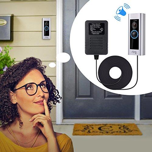 Ring Doorbell Pro 용 전원 어댑터, [UL 인증] Ring Video Doo..