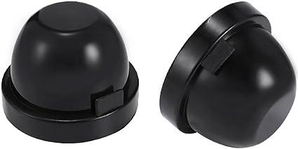 Tapa del sello del faro 80 mm 1 par Carcasa de goma Tapa del sello Cubierta de polvo para el kit de conversi/ón HID del faro LED