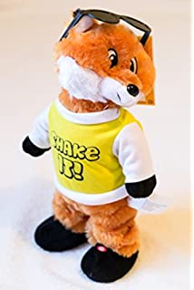 Twerking Dancing Plush Fox [Song - Fireball]