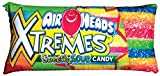 "iscream Rainbow-riffic! Airheads Xtremes Package Shaped 26"" Photoreal Microbead Pillow"