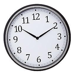 Kiera Grace-20 Wall Clock, Black