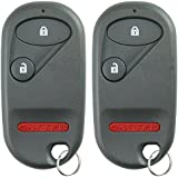 KeylessOption Keyless Entry Remote Control Car Key Fob Replacement for NHVWB1U521, NHVWB1U523 (Pack of 2)