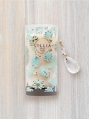 Lollia Wish Petite Perfumed Luminary Candle-10.25 oz. ()