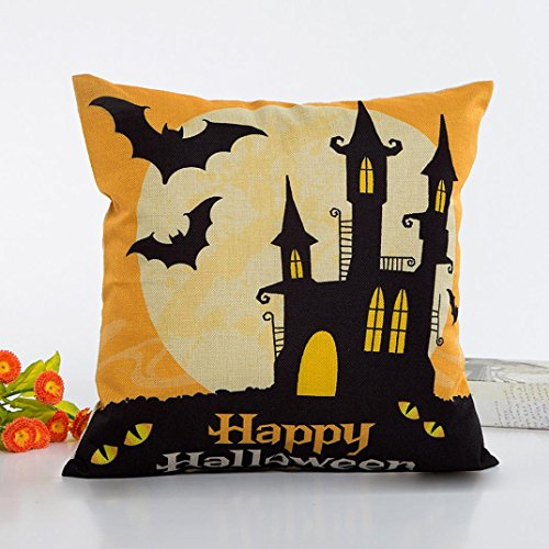Pillow Case Neartime Halloween Sofa Bed Home Decor Pillow Case Cushion Cover (Free, C) by NEARTIME (Image #1)