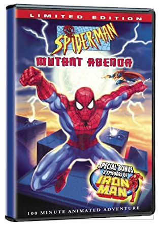 Amazon.com: Marvel: Spider-Man: The Mutant Agenda (2008 ...