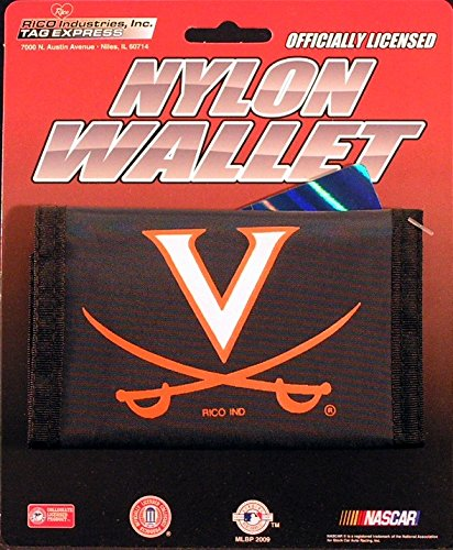 Rico Industries NCAA Virginia Cavaliers Nylon Trifold Wallet
