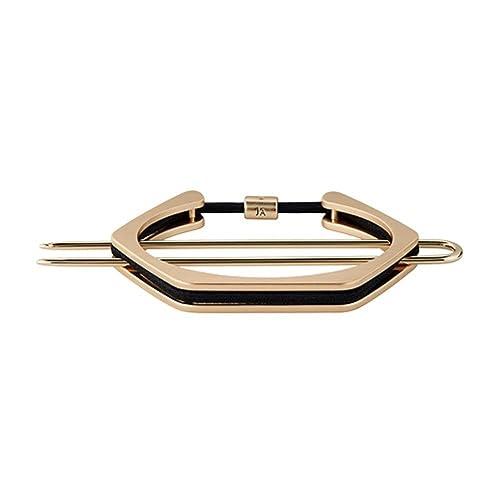 cfe915a0f1 Jen Atkin X Chloe + Isabel Hex Bun Cuff + Hair Tie - GOLD: Amazon.ca ...