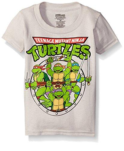 Teenage Mutant Ninja Turtles Little Boys' Toddler Group T-Sh