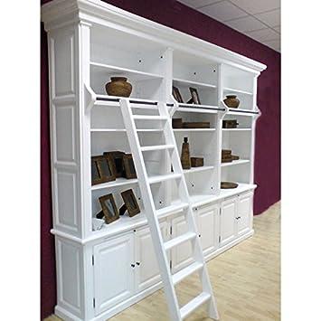 Bücherschrank WASHINGTON 3er weiß B 305cm Massiv: Amazon.de: Küche ...