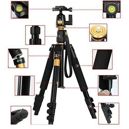 AFAITH¨ Professional Portable Magnesium Aluminium Alloy Tripod Monopod & Ball Head SLR Camera Canon Nikon Pentax