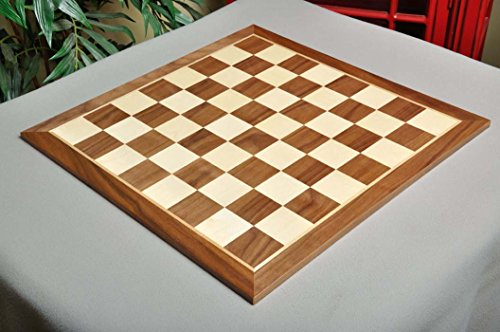 The House of Staunton Walnut & Maple Wooden Chess Board - 2.5
