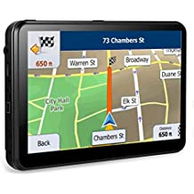 [Patrocinado] 8GB Portable GPS Navigation for car Widescreen 7 Inch Capacitive Touch Screen, Portable Navigator Built-in Latest Map Data and Free Lifetime Updates All US Maps.